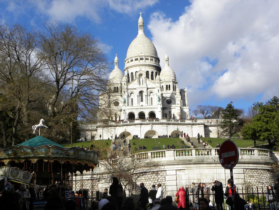 Sacre Coeur Montmartre in Paris