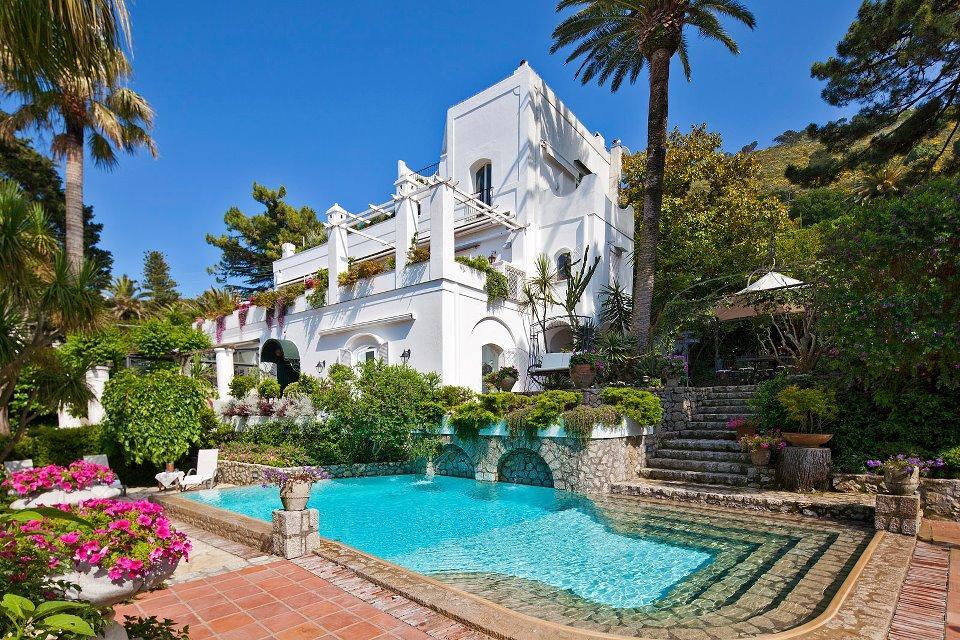 The Villa Le Scale In Capri One Of The Most Romantic