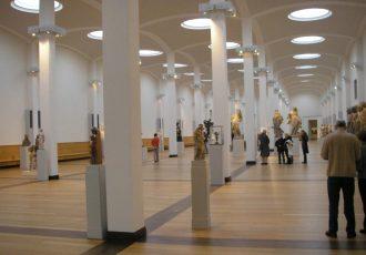 Berlin Gemäldegalerie, interior