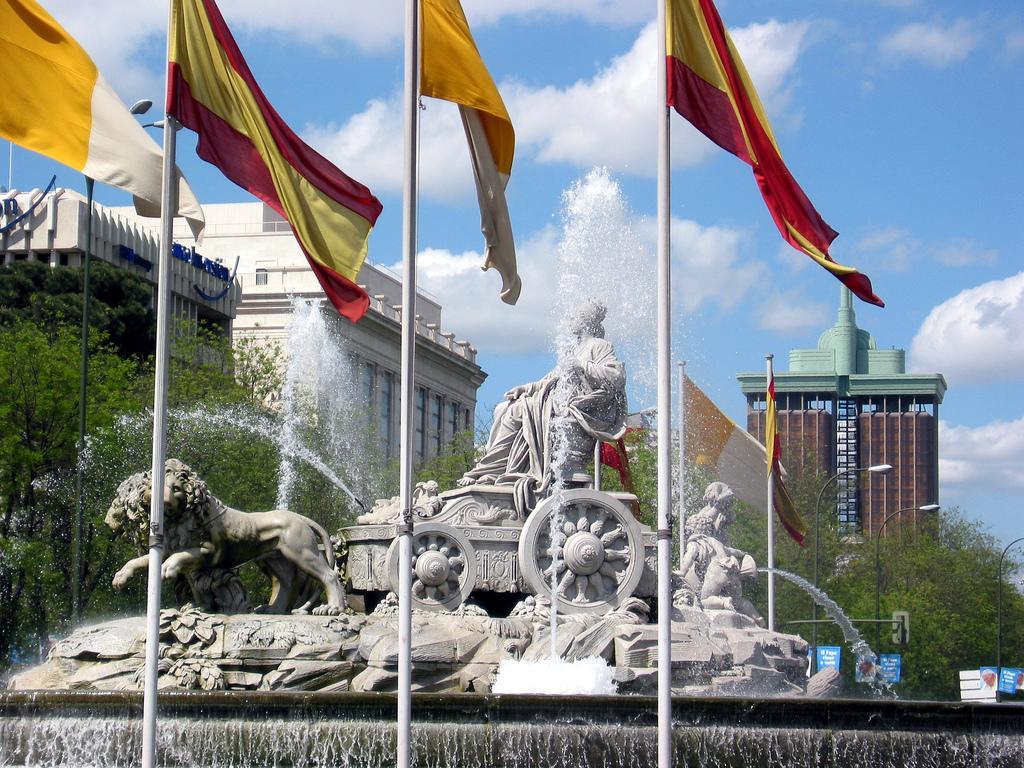 The fountain of Cibeles