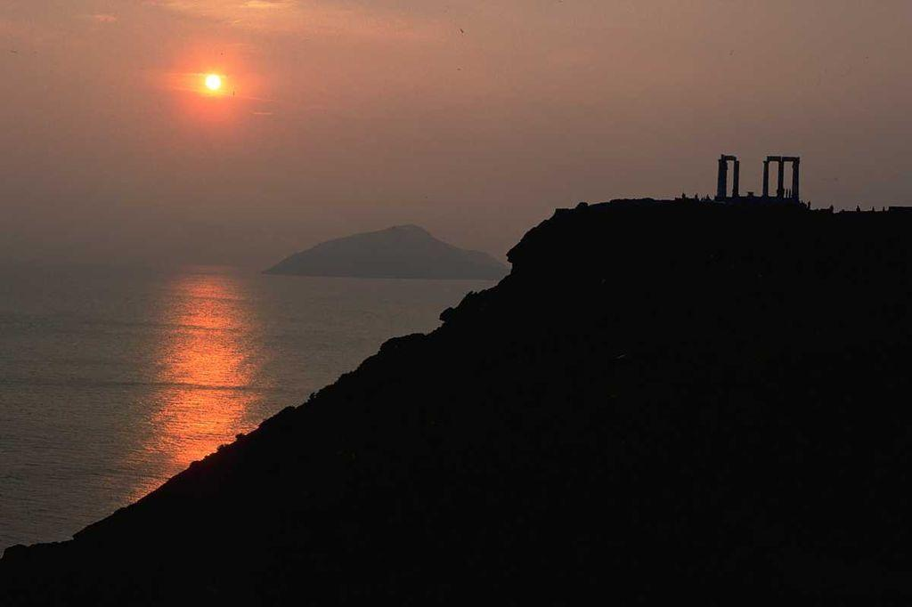 Cape Sounion in Athens