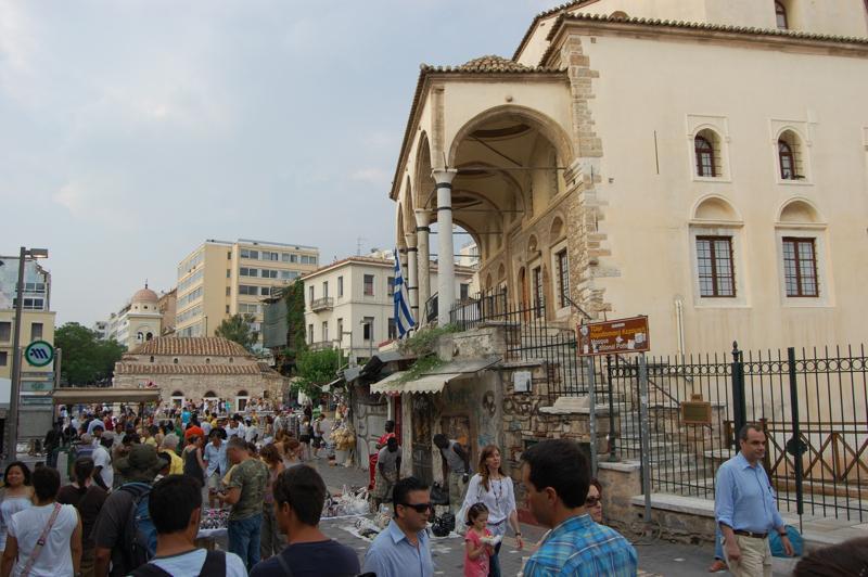 Monastiraki in Athens