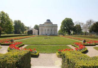 Jardin de Bagatelle in Paris, France
