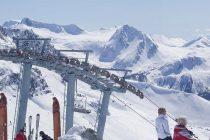 Skiing at the Big White Resort, Canada