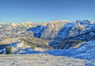 Skiing In France, a Skiers Paradise