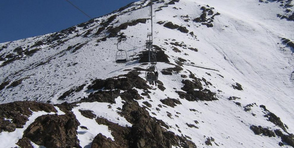 Michlifen Ski Resort in Morocco