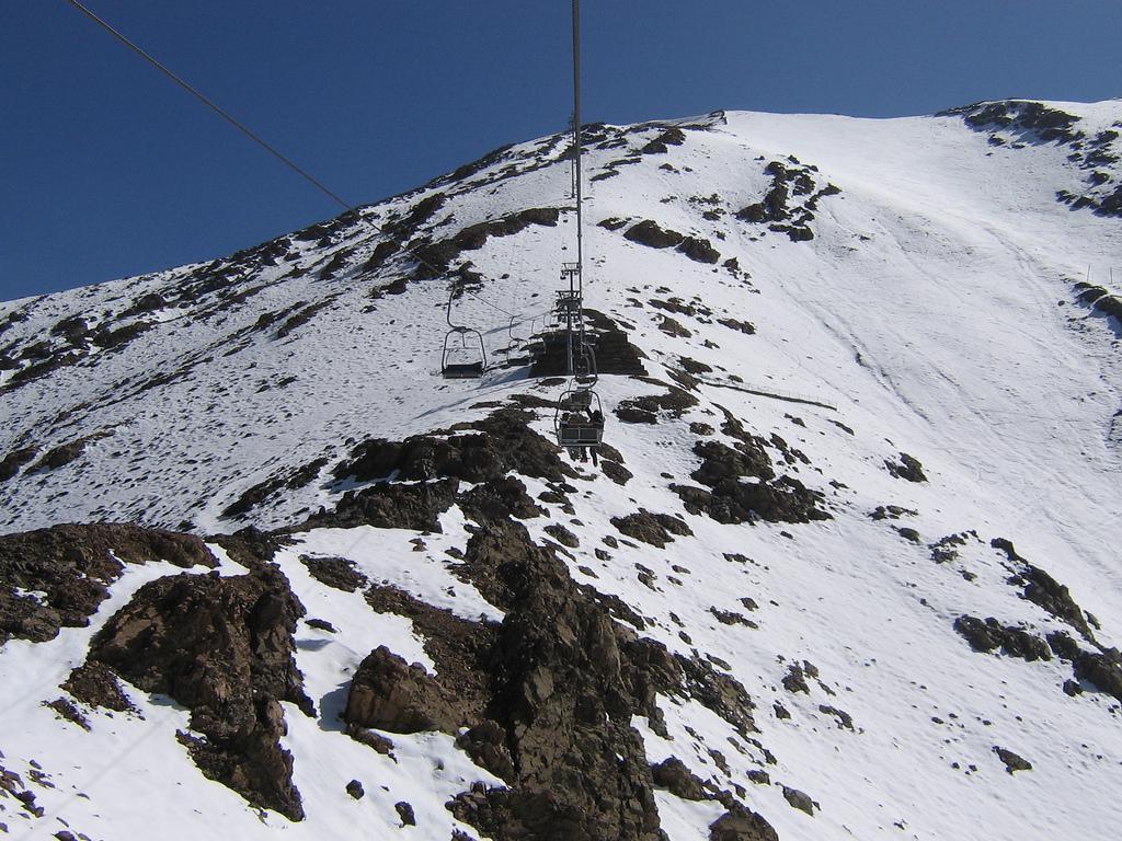 Michlifen Ski Resort in Morocco