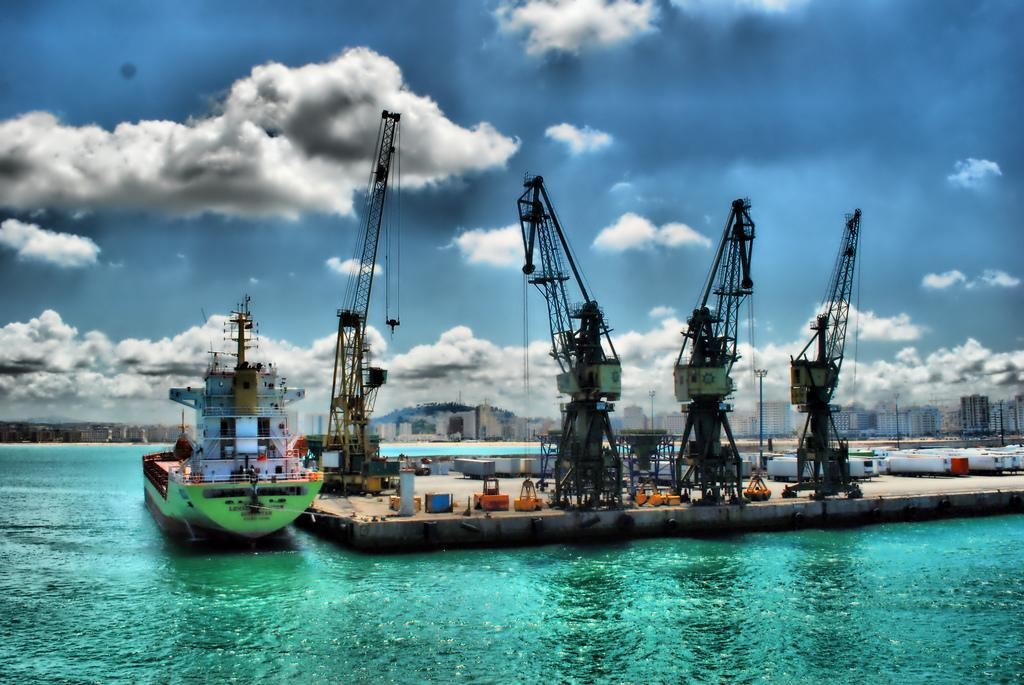 Cranes of the Port, Tangier