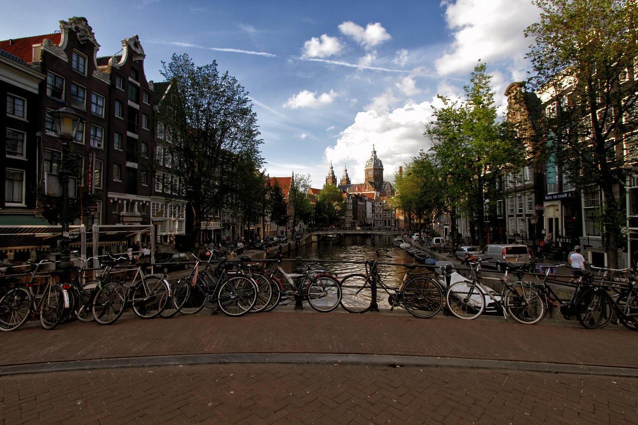 Biking In Aamsterdam