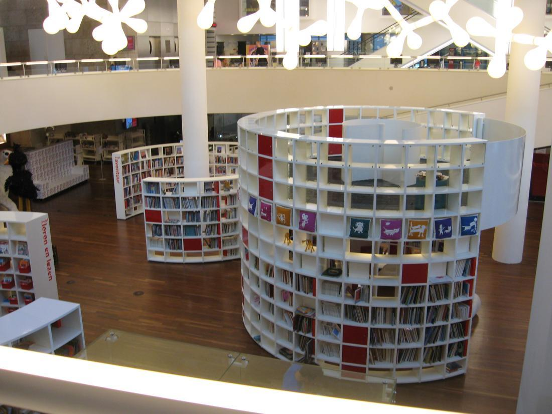 Central Library in Amsterdam