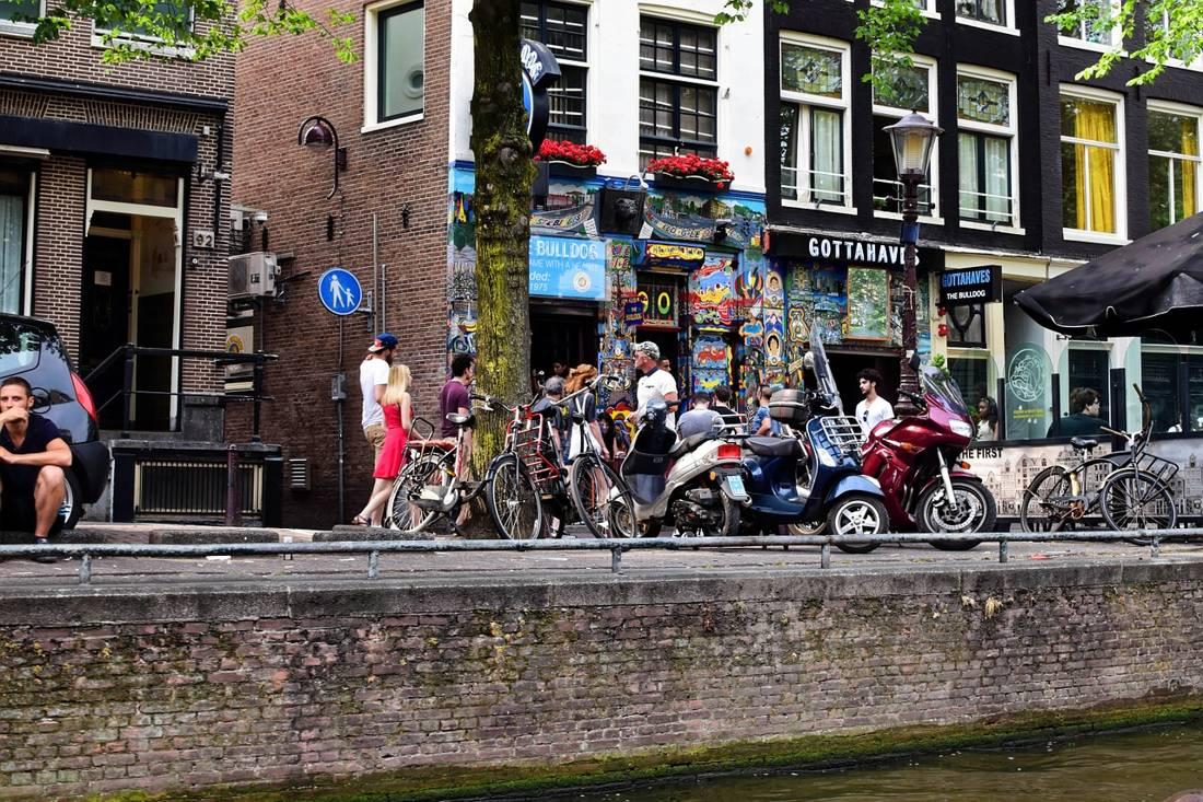 Amsterdam's notorious cafes