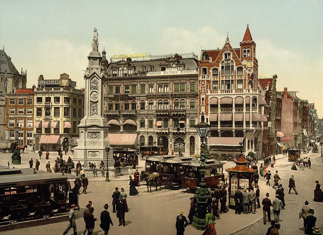 Dam Square in Amsterdam