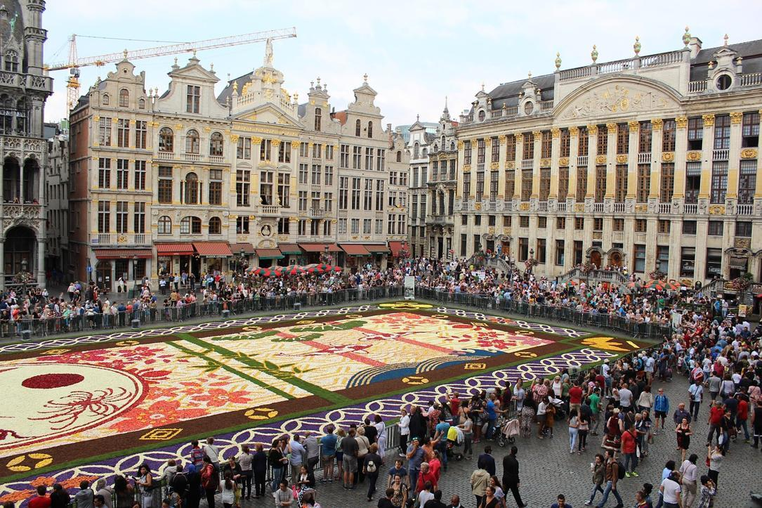 Flower Carpet, The Grand Place, Brussels