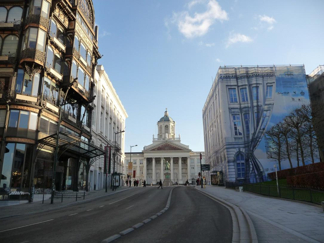 Magritte Museum (Royal museums of Fine Arts) in Brussels