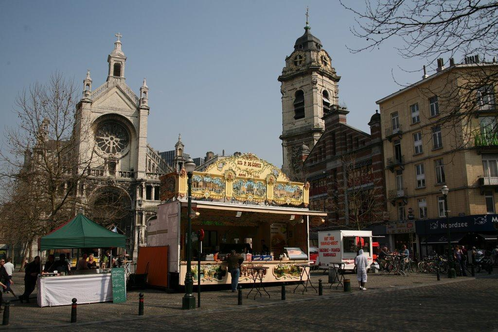 Place Ste Catherine, Brussels