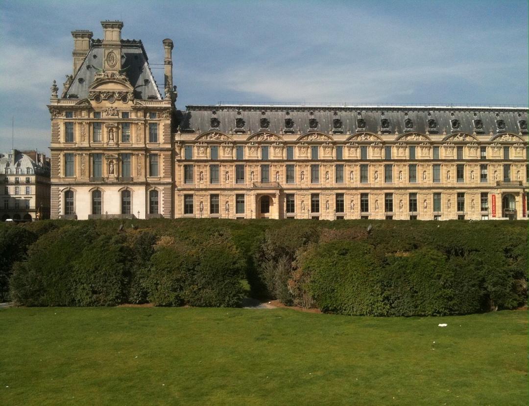 The Tuileries  Gardens in Paris