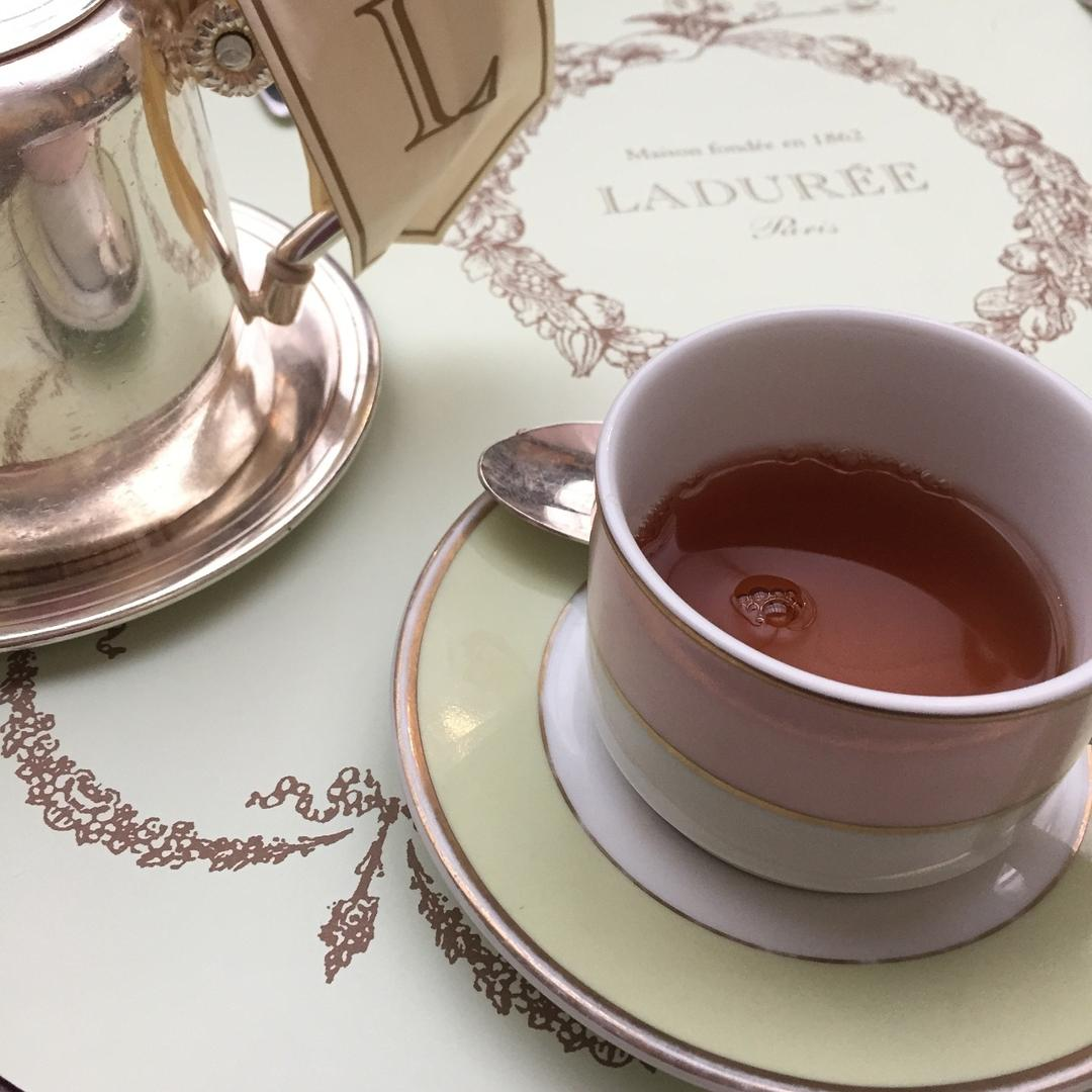 Tea Time in Paris, France