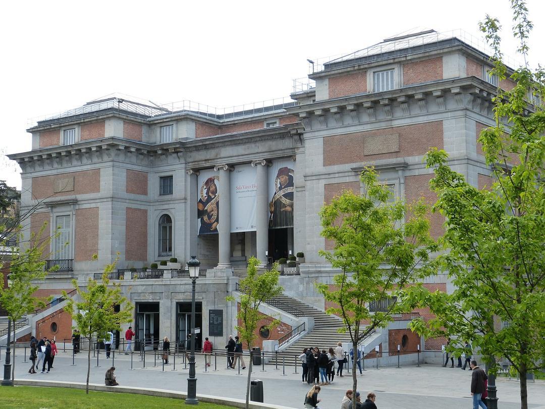 The Prado Museum in Madrid, Spain