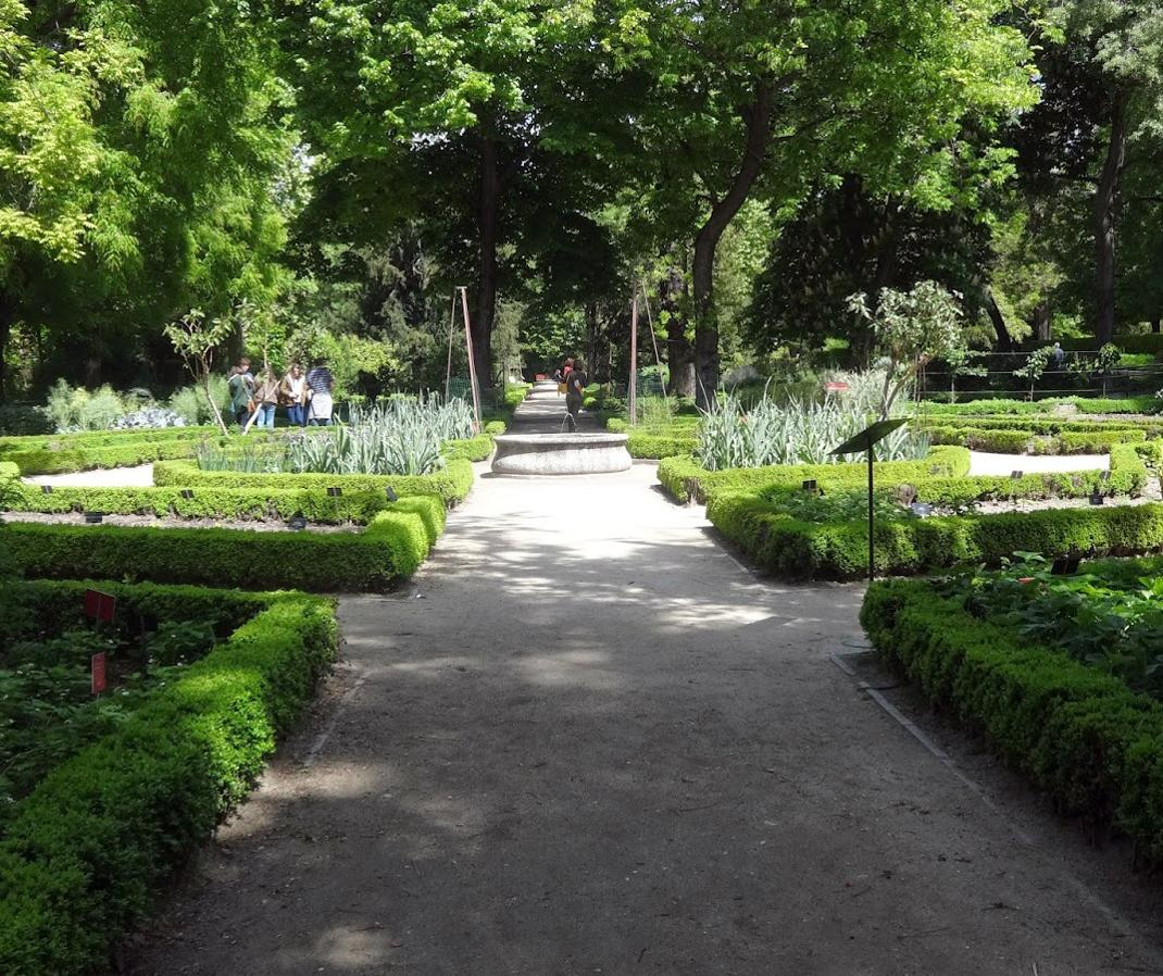 The Royal Botanical Garden in Madrid, Spain