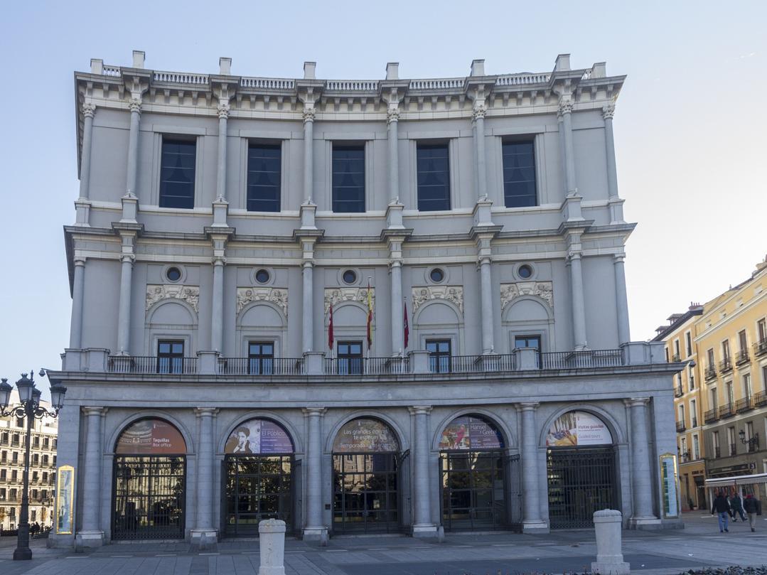Royal theatre in Madrid, Spain