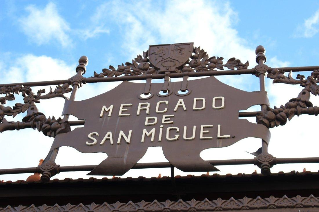 The San Miguel Market in Madrid, Spain