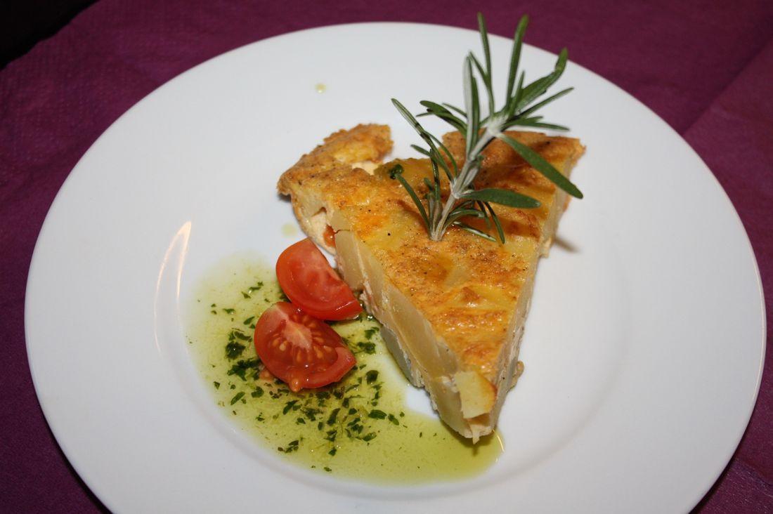 The Spanish Tortilla (Spanish omelette)
