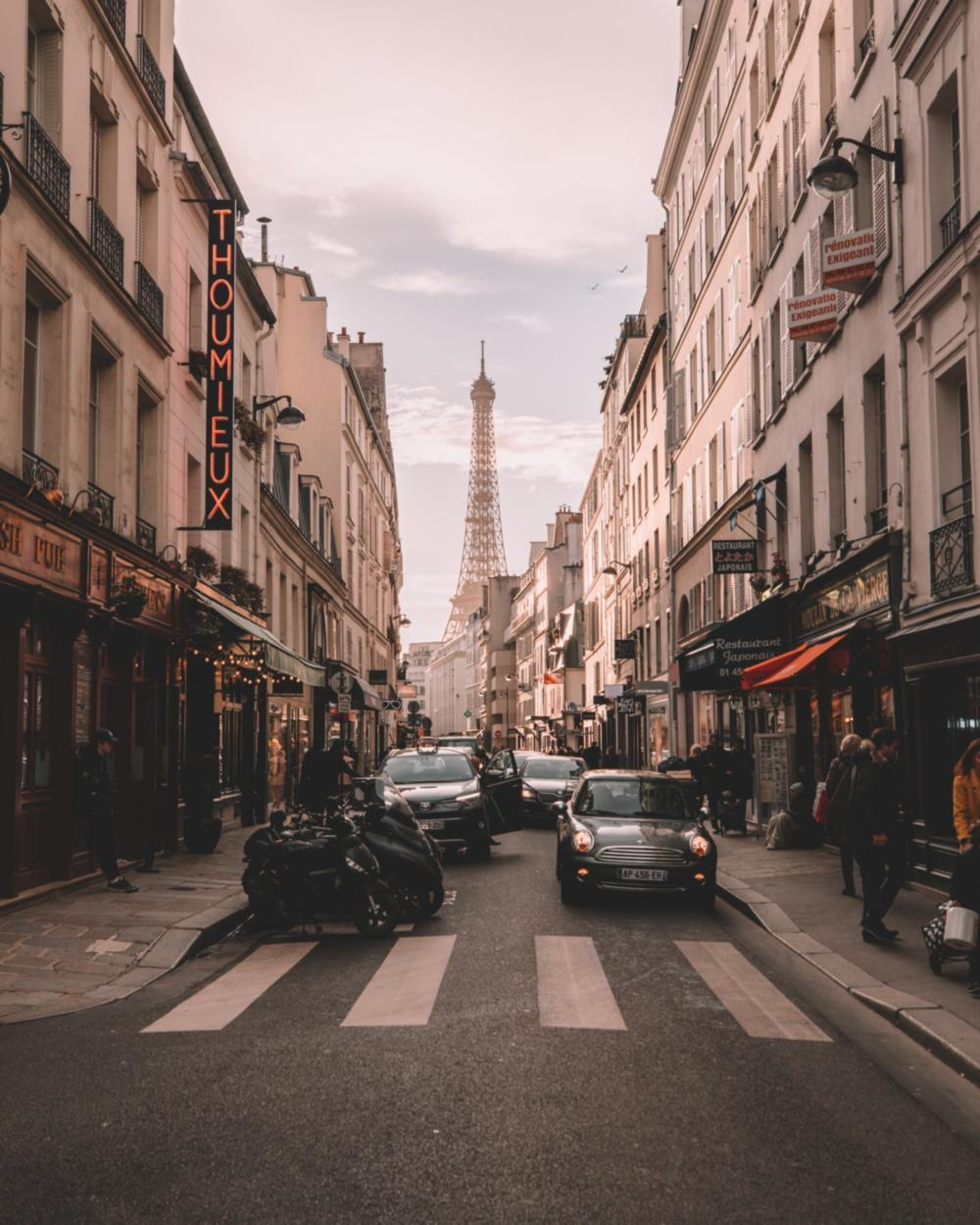 Planning your trip to Europe, Paris
